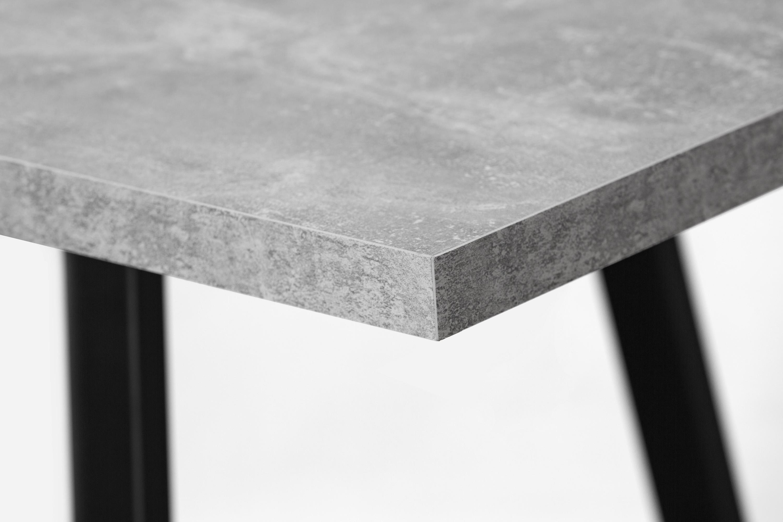 Стол обеденный раздвижной LOFT BETON - фото