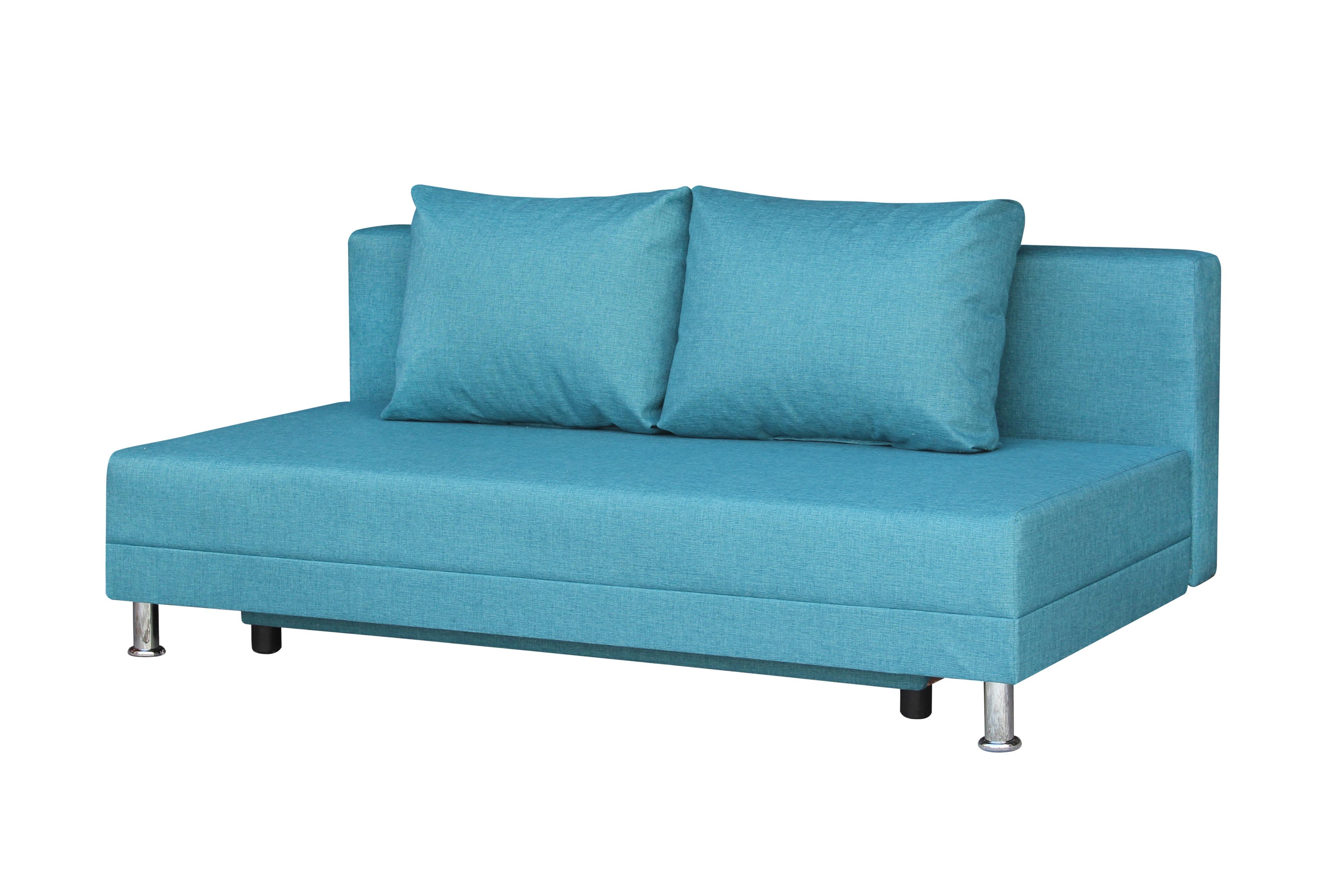 Диван-кровать Комфорт без подлокотников BALTIC AZURE - фото