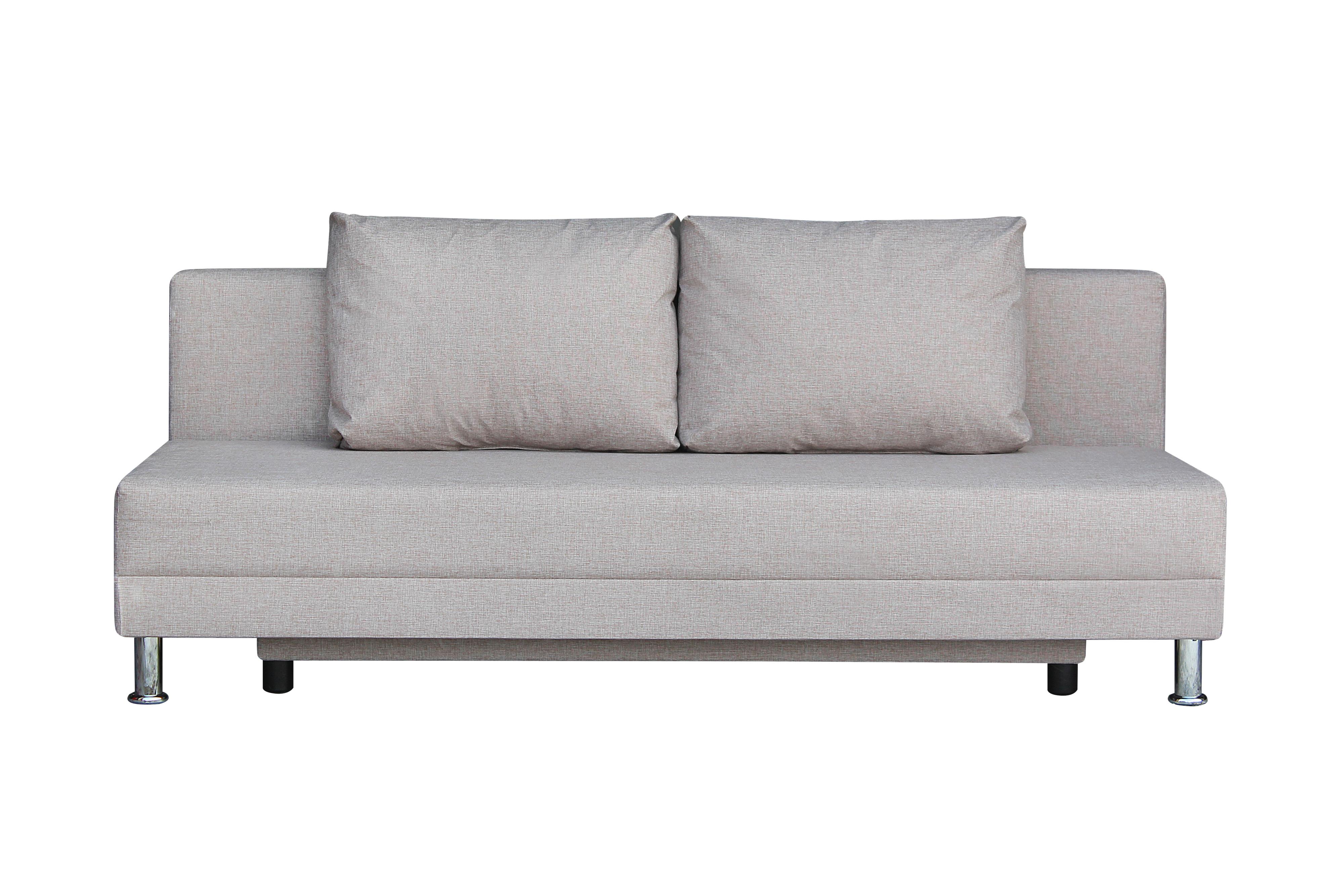 Диван-кровать Комфорт без подлокотников BALTIC CAMEL - фото