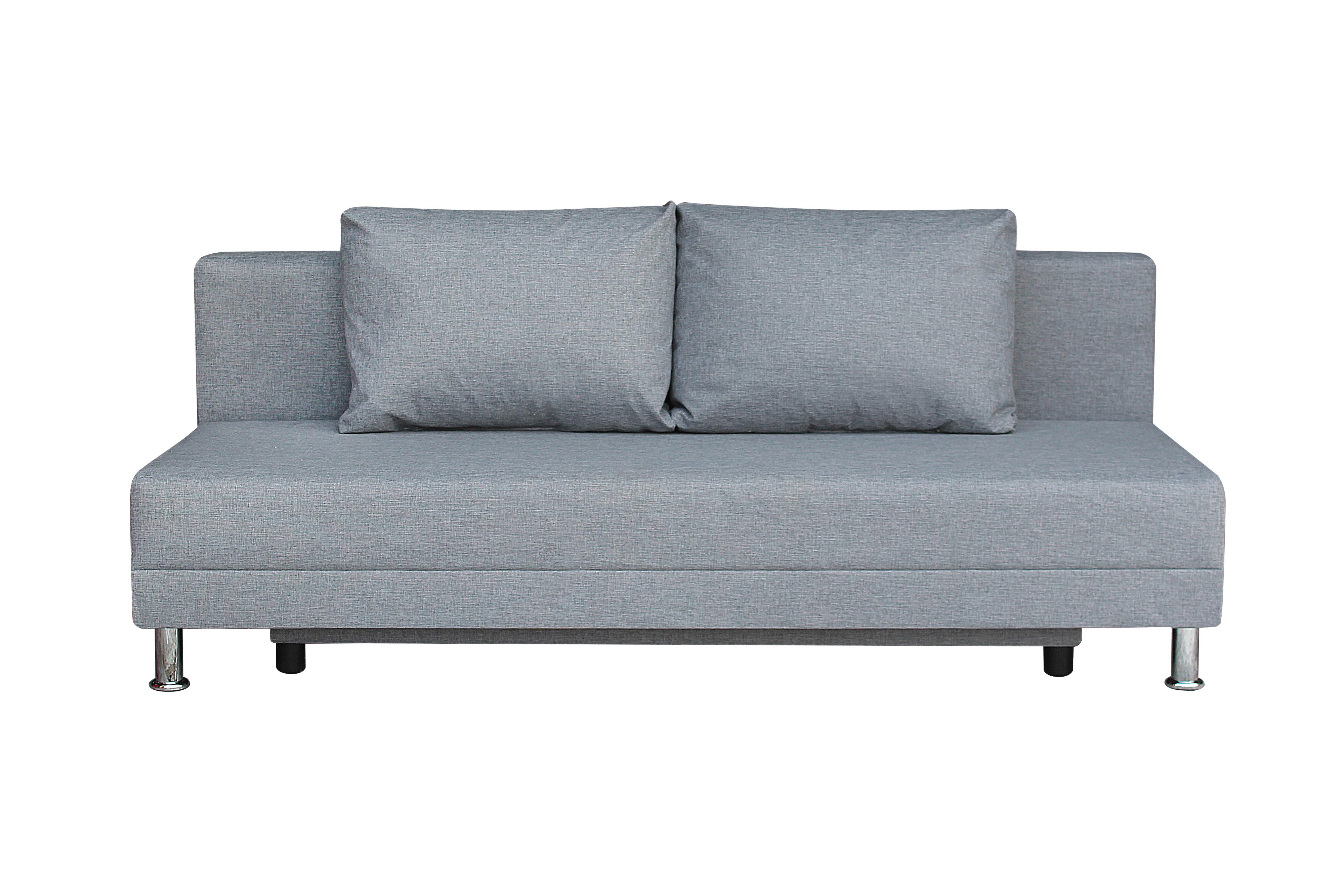 Диван-кровать Комфорт без подлокотников BALTIC GREY - фото
