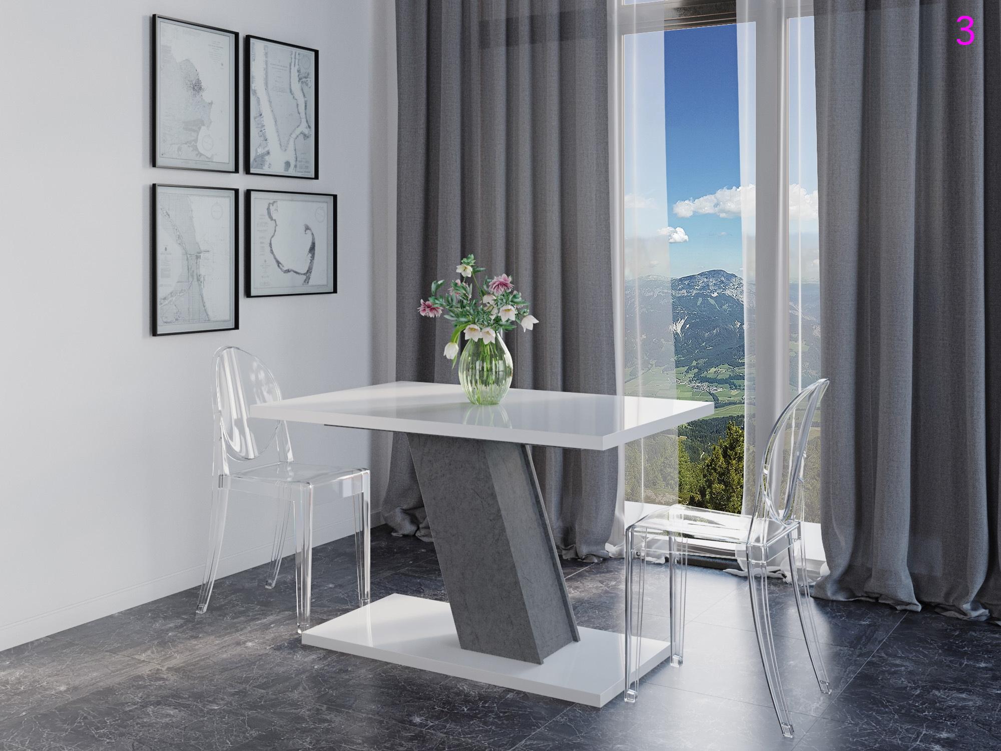 Стол обеденный раздвижной KROSS - фото