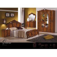 Спальня Ольга с 4-дверным шкафом - фото