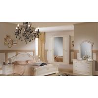 Спальня Ирина с 4-дверным шкафом - фото