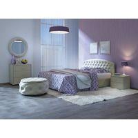 Мягкая кровать Пальмира - фото