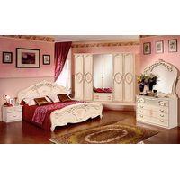 Спальня Роза с 6-дверным шкафом - фото