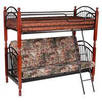 Кровать PS 618 двухъярусная с диваном - фото