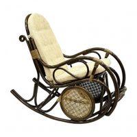 Кресло-качалка с подножкой 05/10 - фото