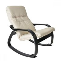 Кресло-качалка Сайма экокожа - фото