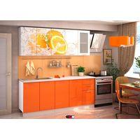 Кухня с фотопечатью Апельсин - фото