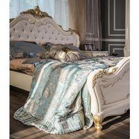 Кровать Энрике крем глянец - фото