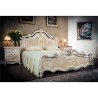 Кровать Илона крем - фото