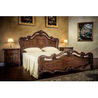 Кровать Илона орех караваджо - фото