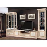 """Мебель для гостиной с ТВ тумбой """"Карина 3"""" Беж - фото"""