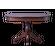 Стол обеденный из массива Аркос-9 - фото