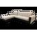 Диван угловой Аккордеон с оттоманкой - фото